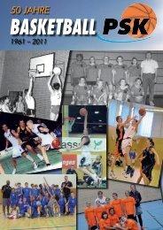 basketball 50 jahre 1961 – 2011 - PSK