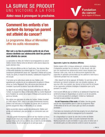 Bulletin - Hiver 2013 Bulletin Été 2012