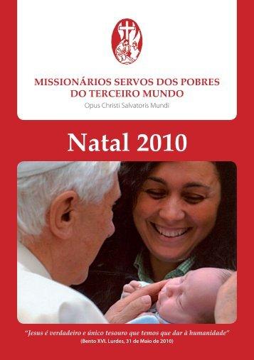 Natal 2010 - Misioneros Siervos de los Pobres del Tercer Mundo