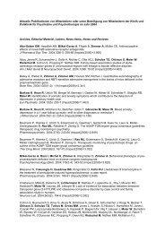 Publikationen 2004 - Klinik und Poliklinik für Psychiatrie und ...