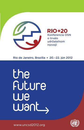 Rio +20 - UNIS