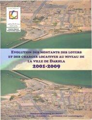 SSL Dakhla 2001-2009.pdf - Ministère de l'Habitat, de l'urbanisme et ...