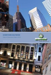 2012 Report - Downtown Baltimore