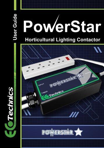 User Guide Horticultural Lighting Contactor - Ecotechnics