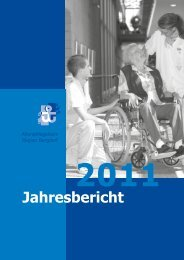 Jahresbericht 2011 - Alterspflegeheim Burgdorf