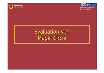 Evaluation von Magic Circle