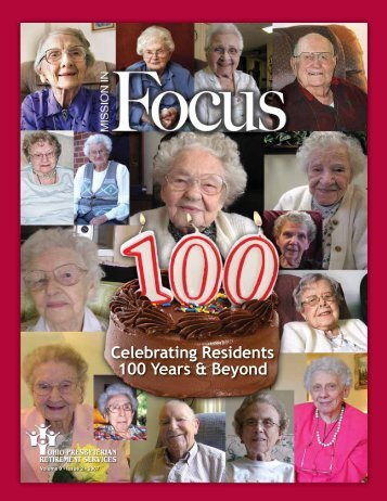 Celebrating Residents 100 Years & Beyond - Ohio Presbyterian ...