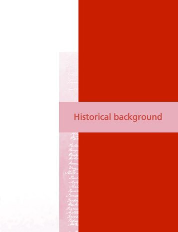 Historical Background: PDF 142KB