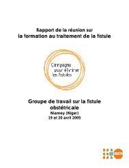 France - Campaign to End Fistula