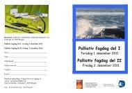 Palliativ fagdag del I Palliativ fagdag del II - Helse Bergen
