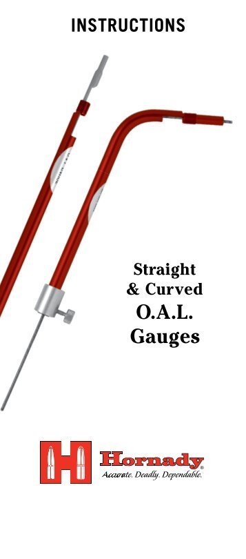 Lock-N-Load Overall Length (OAL) Gauges - Hornady