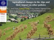 Agricultural changes in the Alps - European Grassland Federation ...