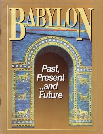 Babylon - Past, Present and Future - Church of God - NEO