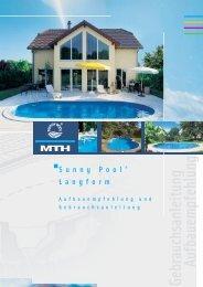 SUNNY POOL® Ovalformbecken Aufbauanleitung - MTH-Moderne ...