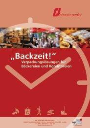 """""""Backzeit!"""" - Jahncke Papier GmbH"""