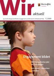 Ausgabe 1/2009 - Wir tun was
