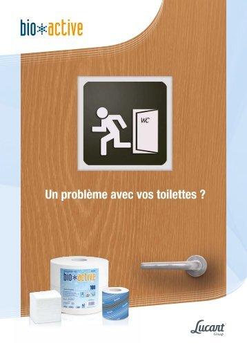 Un problème avec vos toilettes ? - Lucart Professional
