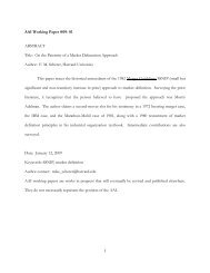 AAI Working Paper #09- 01 ABSTRACT Title - American Antitrust ...