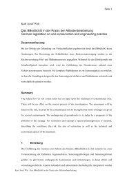 Karl Josef Witt Das BBodSchG in der Praxis der ...