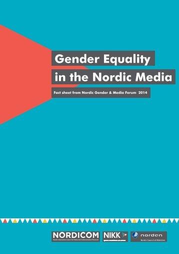 Fact-sheet-NIKK-Nordicom-Gender-Media-2014