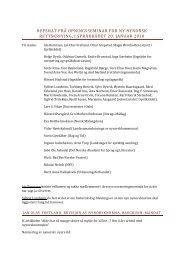 referat frå opningsseminar for ny nynorsk rettskriving, i språkrådet 20 ...