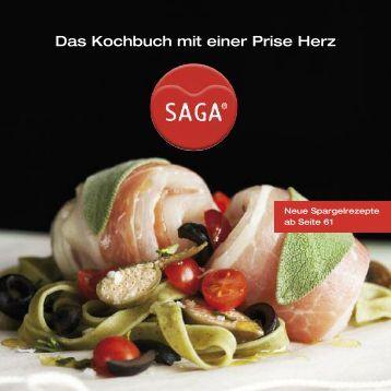 SAGA Kochbuch inkl. Spargelrezepten - sagacook.com