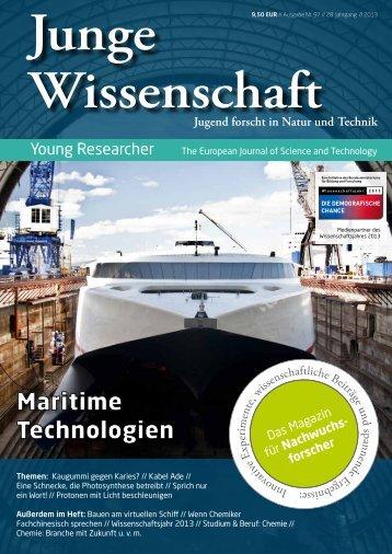 Download Leseprobe 97 als PDF - Junge Wissenschaft