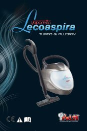 LECOASPIRA TURBO & ALLERGY - M0S10127 - 1S01 ... - Polti