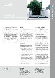 Documentation EuroMeteor Fiche produit EuroMeteor - dthX