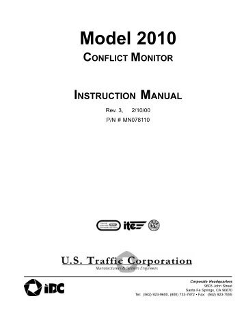 2010 Manual.pdf - Peek Traffic