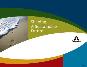 Shaping A Sustainable Future - Armstrong International, Inc.