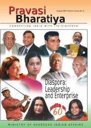 Diaspora: Leadership and Enterprise - Overseas Indian