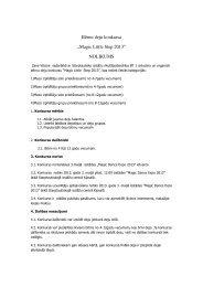 "Bērnu deju konkursa ""Magic Little Step 2013"" NOLIKUMS - BT 1"