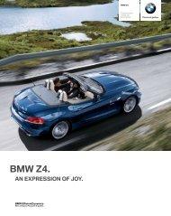 Gli optional della BMW Z4 Roadster - BMW Military Sales