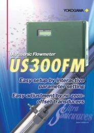 Ultrasonic Flowmeter US300FM (199KB) - Yokogawa