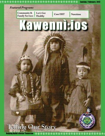 Kawennì:ios Newsletter - Enníska / February 2012 - Saint Regis ...