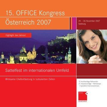 O? 2007_end:Österreich 2007 - OFFICE SEMINARE