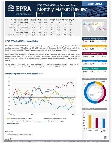 June 2012 FTSE EPRA/NAREIT Real Estate Index