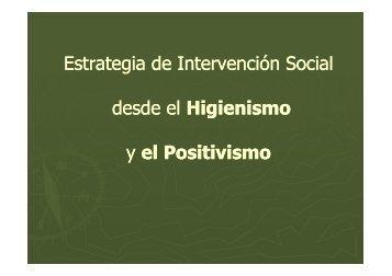 Presentación sobre Higienismo - Facultad de Trabajo Social