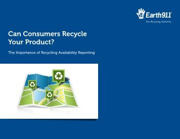 Can Consumers Recycle Your Product? - Department of Physics