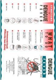 Dengue fever brochure