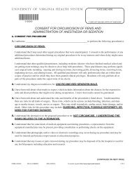 consent for circumcision of penis and administration of anesthesia or ...