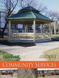 Check out the Bronco Website: www ... - City of Humboldt