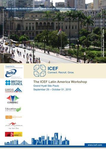 The ICEF Latin America Workshop - Australia New Zealand Agent ...