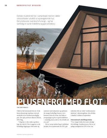 plUsenergi med Flot design - DTU Solar Decathlon Europe 2014