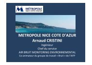 Agglomération Nice Côte d - CoTITA