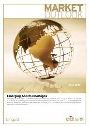 Emerging Assets Shortages - Citibank