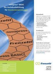 novapress ® BASIC - Frenzelit Werke GmbH