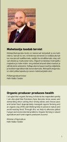 Mahepõllumajandus Eestis 2011 / Organic farming in ... - Maheklubi - Page 3