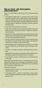 Mahepõllumajandus Eestis 2011 / Organic farming in ... - Maheklubi - Page 6